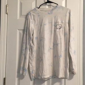 Ivory Ella Baby Blue Tye Dye Long Sleeve Shirt